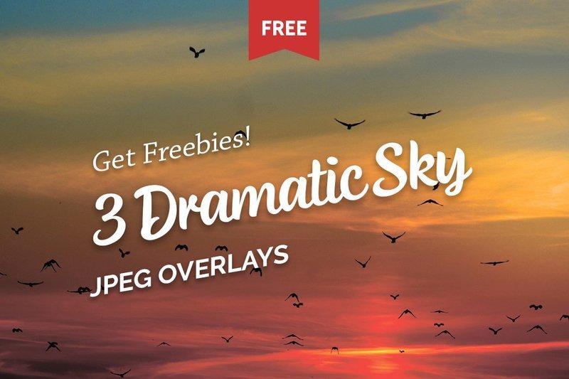 Free Dramatic Sky Photo Overlays