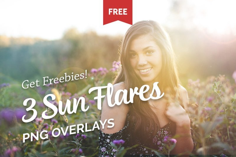 Free Lens Flare Photo Overlays