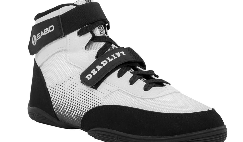 SABO DEADLIFT 1 WHITE shoes for powerlifting deadlift gym