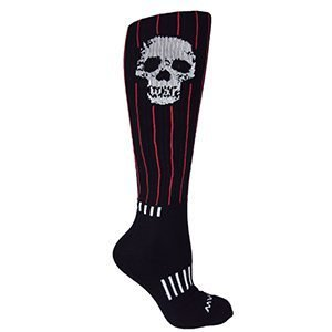 Moxy Socks WAR SKULL KNEE DEADLIFT socks