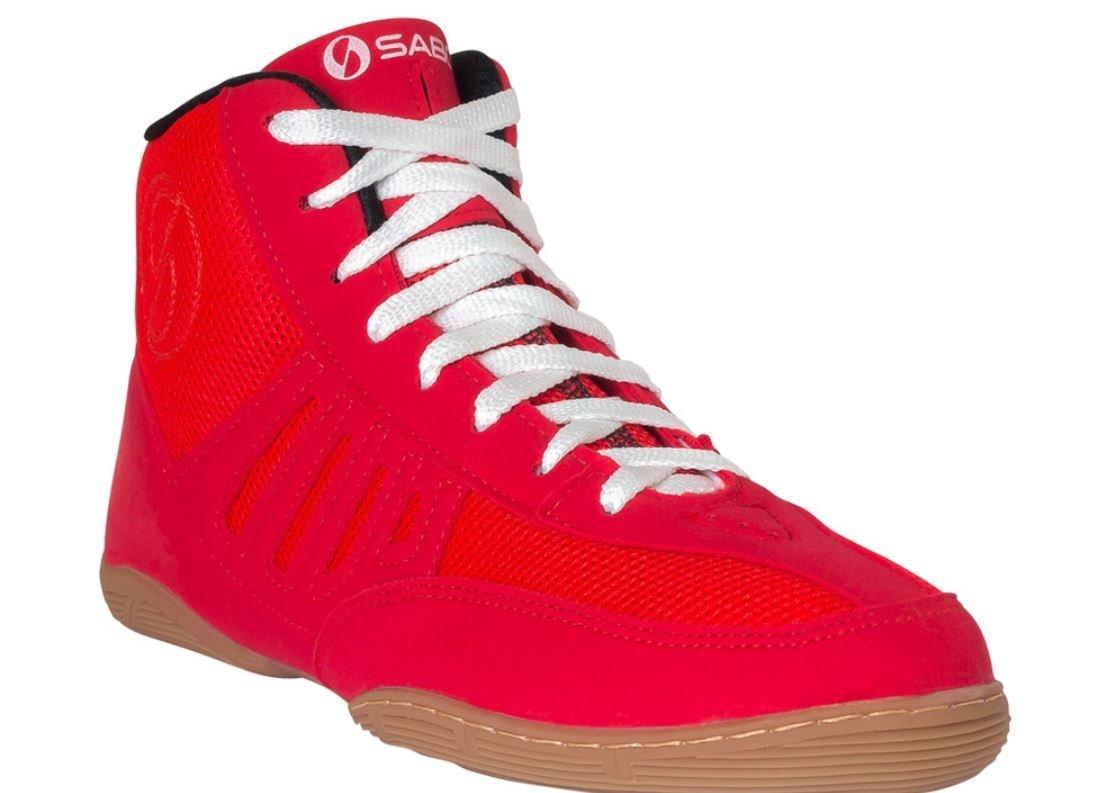 SABO SLAY RED wrestling gym deadlift shoes