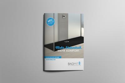Prospekt: Duschboard STONE. Jetzt in gedruckter Form für Ihre Kunden. Selbstverständlich kostenlos!