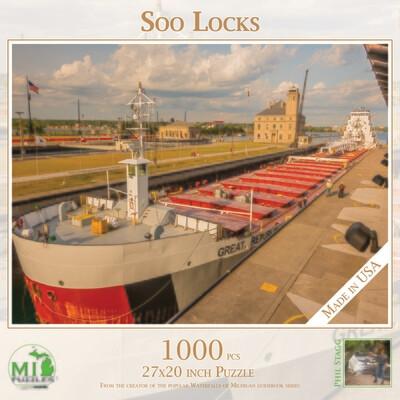 SOO LOCKS PUZZLE - 1,000 PIECE