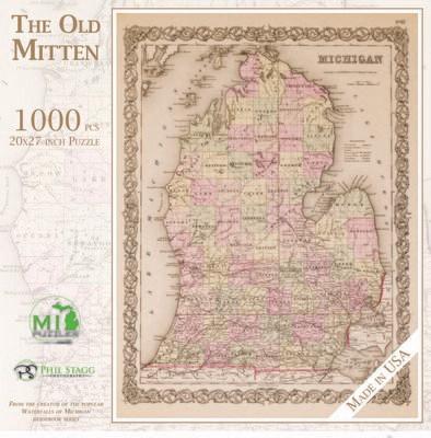 THE OLD MITTEN - 1,000 PIECE