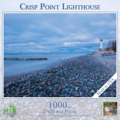 CRISP POINT LIGHTHOUSE - 1,000 PIECE
