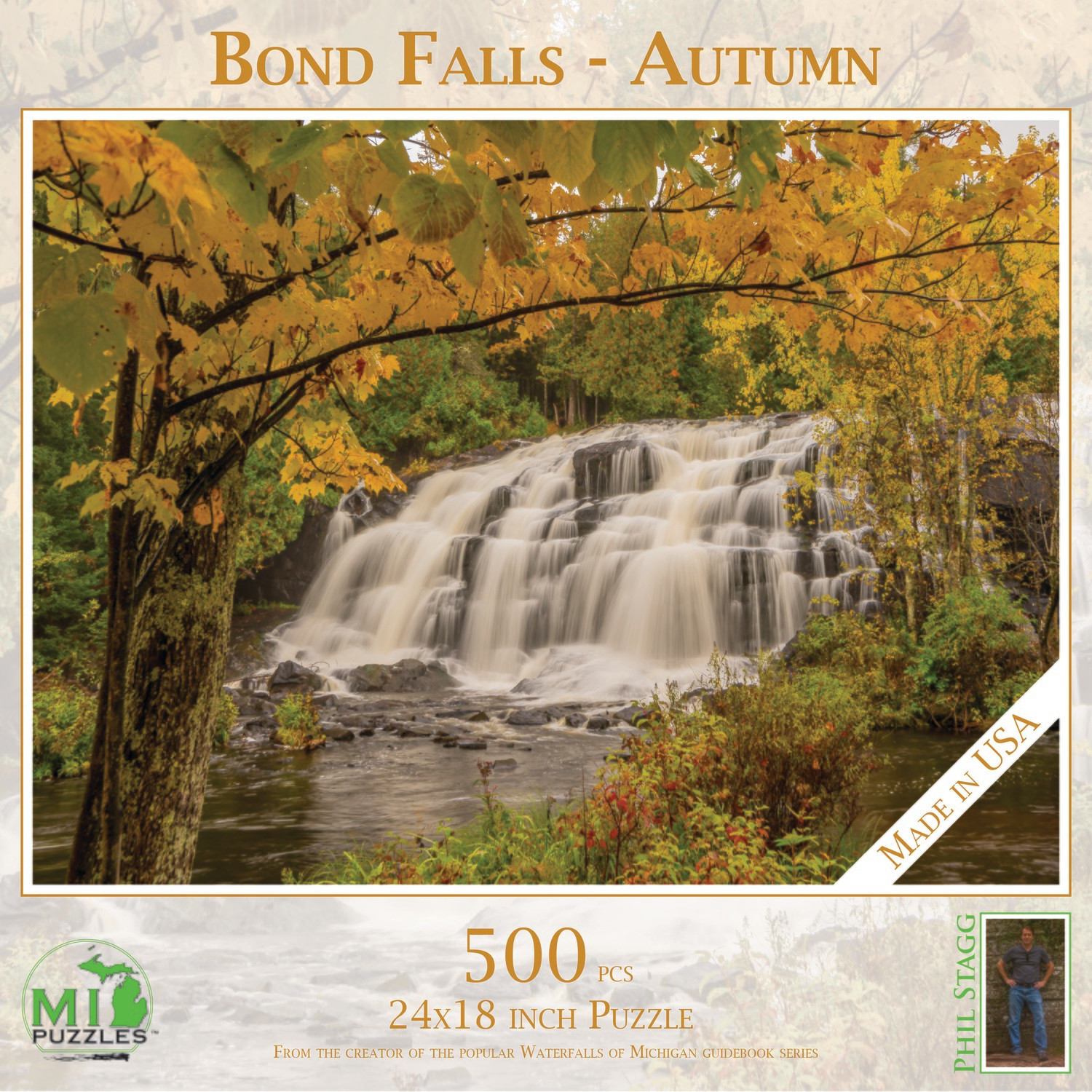 Bond Falls - Autumn