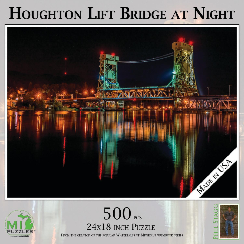 Houghton Lift Bridge at Night