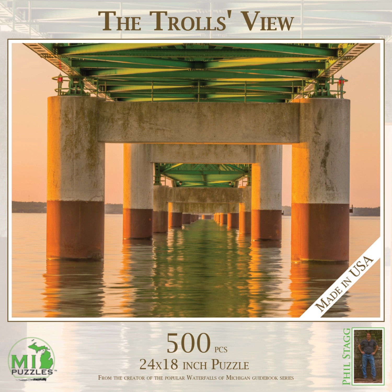 Trolls' View (Mackinac Bridge)