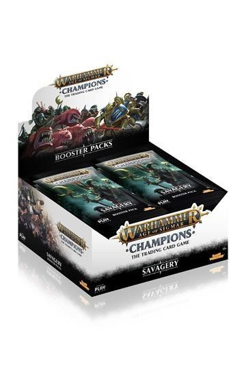 Warhammer Age of Sigmar: Champions Wave 3: Savagery Booster Display(24)