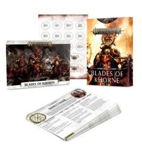 Blades of Khorne: Warscroll Cards