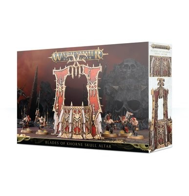 Blades of Khorne Skull Altar
