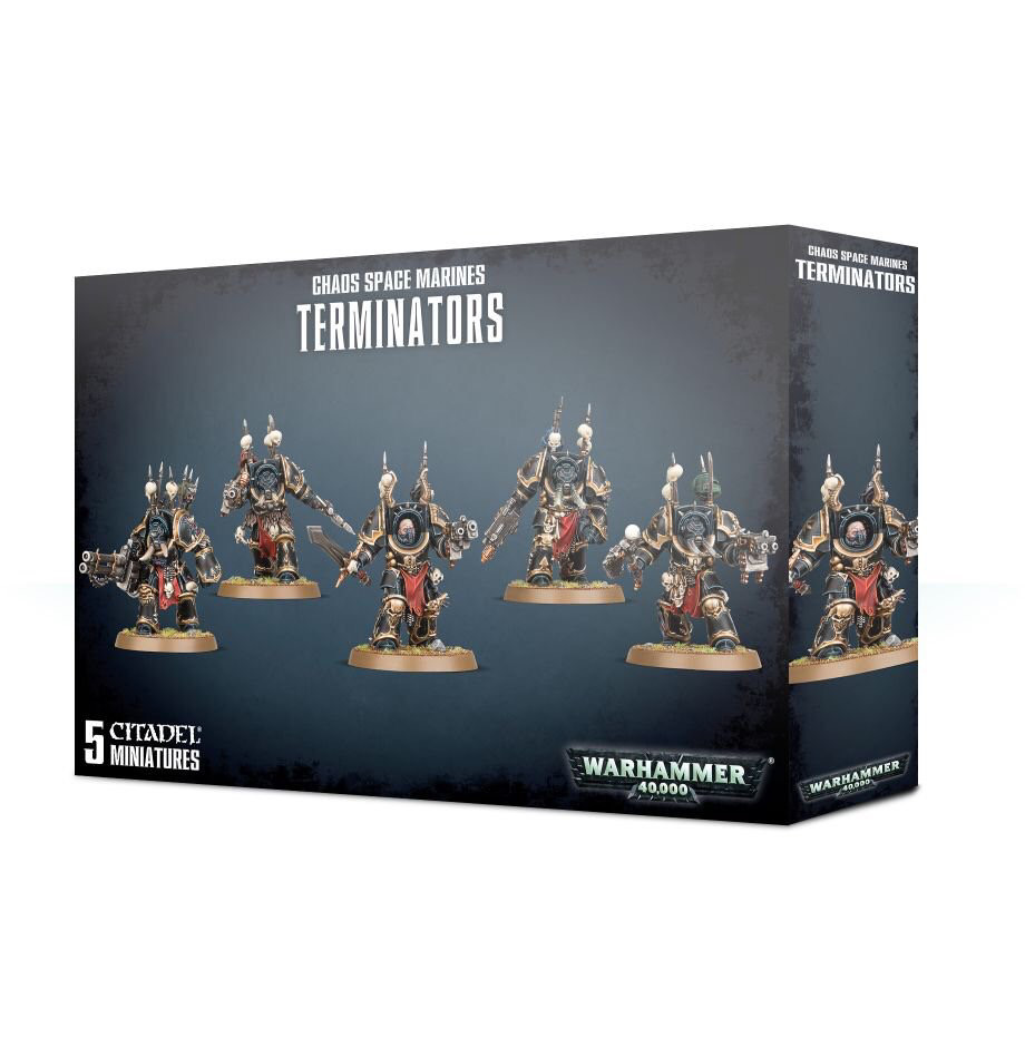 Chaos Space Marines Terminators