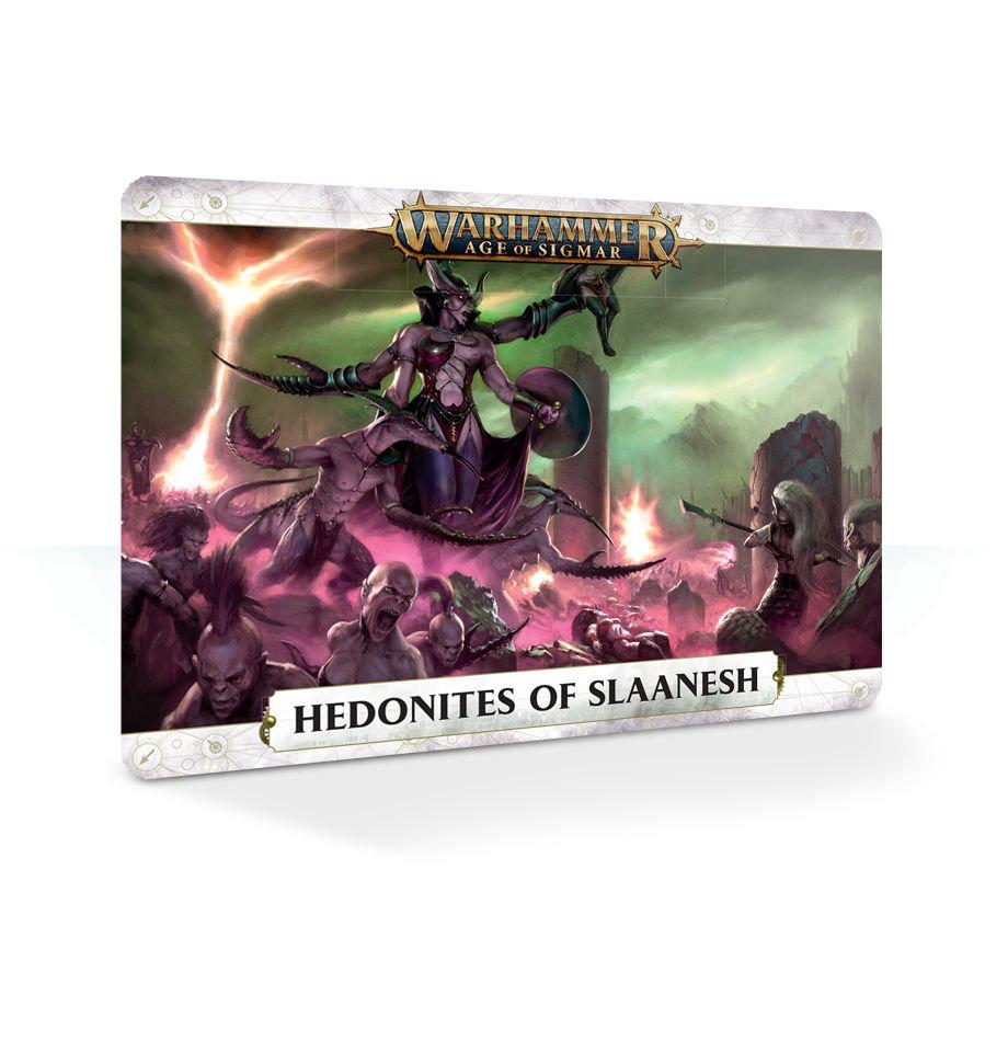 Hedonites of Slaanesh Warscroll Cards