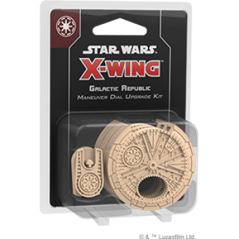 Star Wars: X-Wing (2nd Edition) - Galactic Republic Maneuver Dial Upgrade