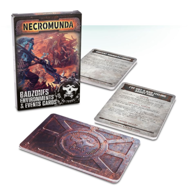 Badzones Environments & Events Cards