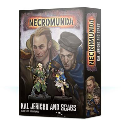 Necromunda: Kal Jericho & Scabs