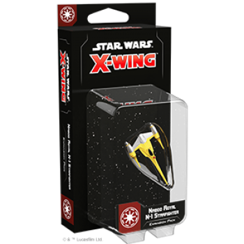 Star Wars: X-Wing – Naboo Royal N-1 Starfighter Expansion Pack - (Second Edition-EN)