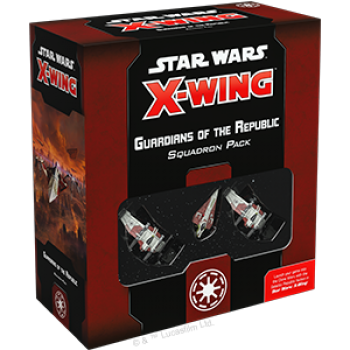 Star Wars X-Wing: Guardians of the Republic Squadron Pack -(second edition- EN)