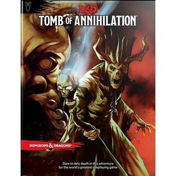 D&D 5th Ed. Tomb Of Annihilation