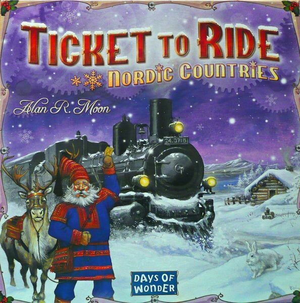 Ticket To Ride Nordic (ENG)
