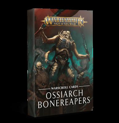 Ossiarch Bonereapers Warscroll Cards