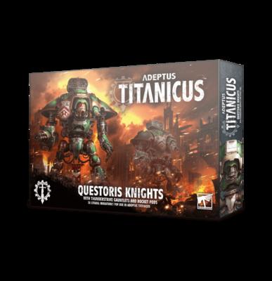 Questoris Knights with  Thunderstrike Gauntles & Rocket Pods