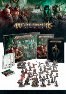 Warhammer Age of Sigmar: Feast of Bones