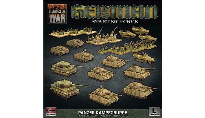 "German LW ""Panzer Kampfgruppe"" Army Deal"