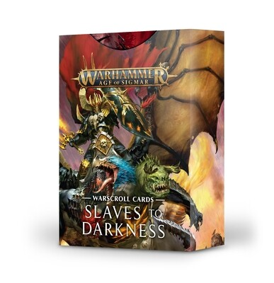Slaves to Darkness: Warscroll Cards