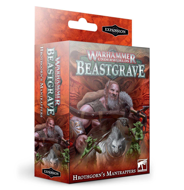 Warhammer Underworlds:  Hrothgorn's Mantrappers  [Ogor Mawtribes]