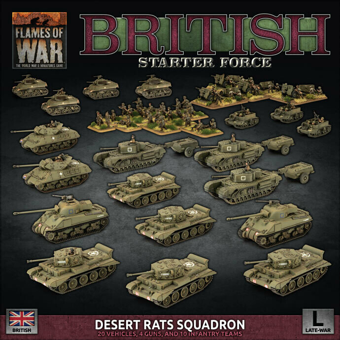 "British LW ""Desert Rats"" Army Deal"