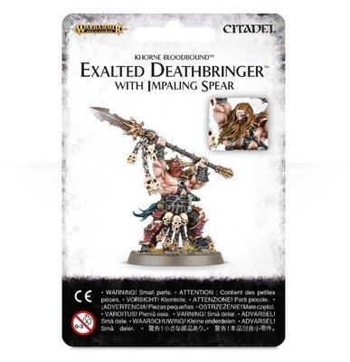 Exalted Deathbringer with Impaling Spear