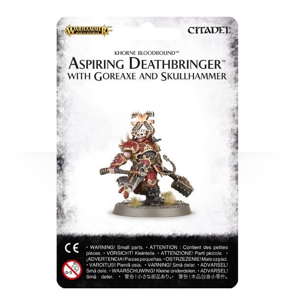 Aspiring Deathbringer with Goreaxe and Skullhammer