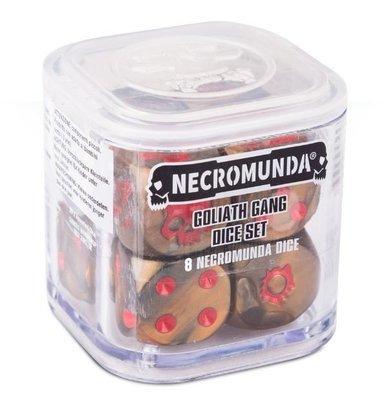 NECROMUNDA GOLIATH GANG DICE SET