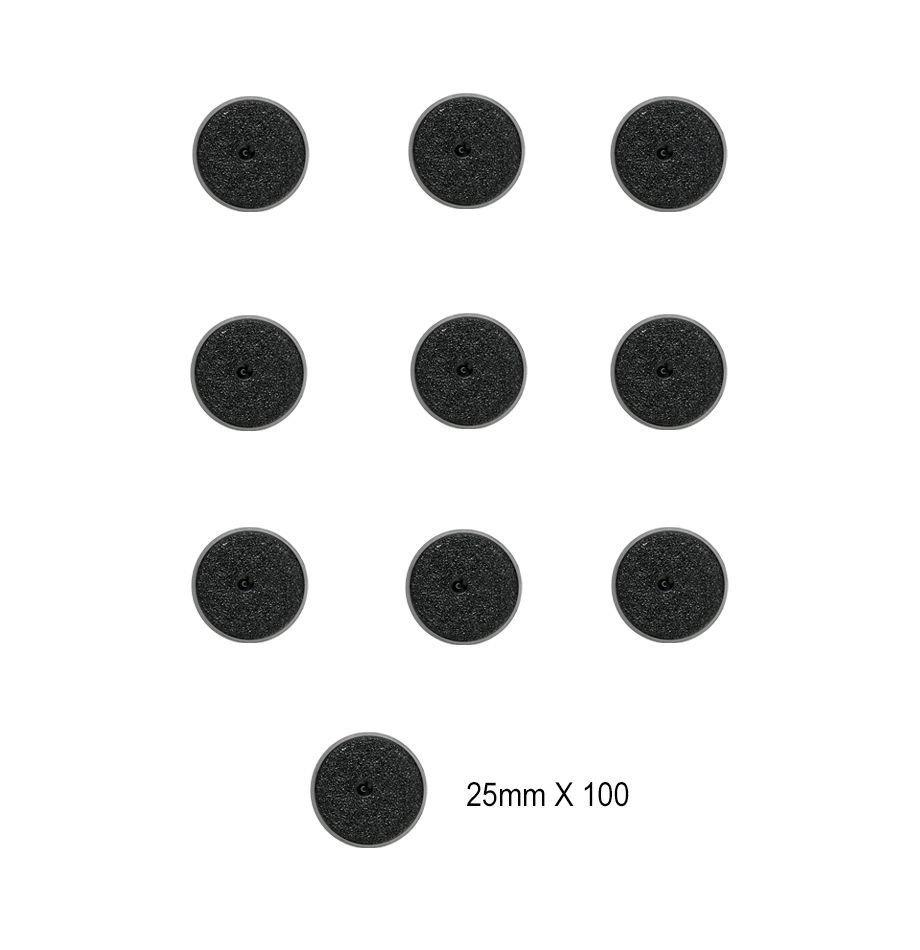 Citadel 25mm Round Bases 100 stk