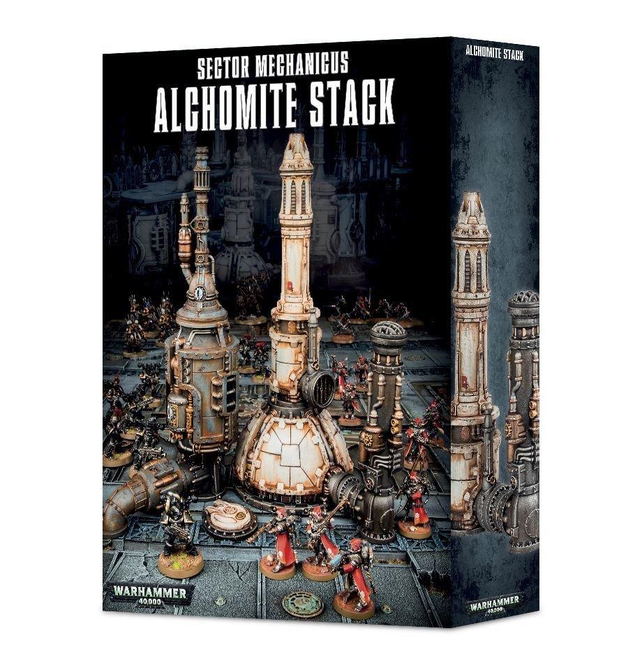 Sector Mechanicus Alchomite Stack