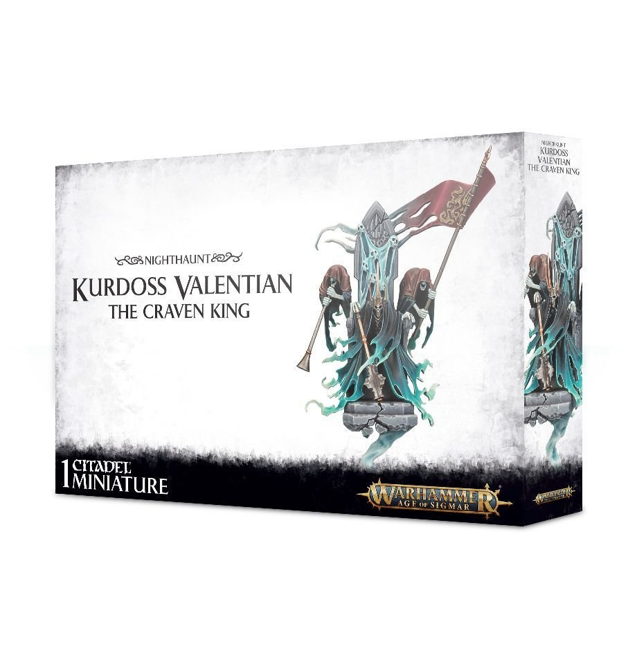 Stormcast Eternals: Kurdoss Valentian: The Craven King