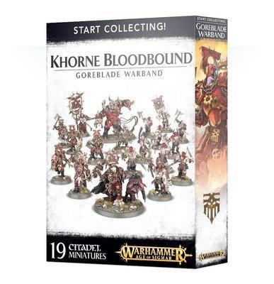 Start Collecting! Khorne Bloodbound Goreblade Warband