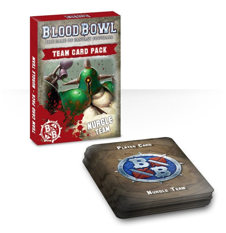 Blood Bowl: Nurgle Cards