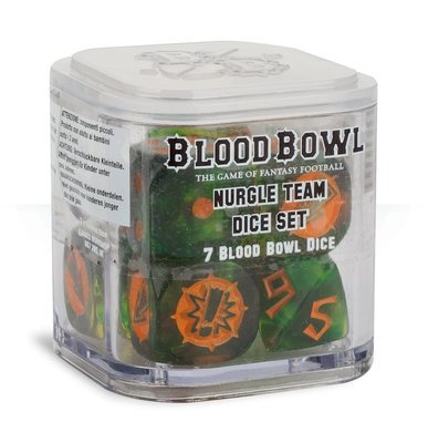 Blood Bowl: Nurgle Dice Set