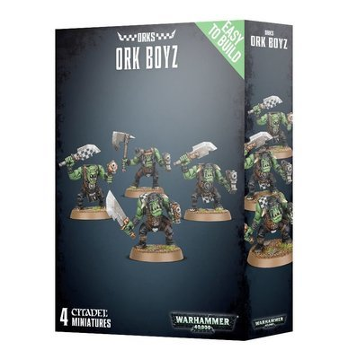 Easy To Build: Ork Boyz