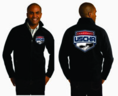 Mens Soft Shell USCHA Jacket
