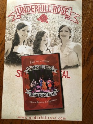 Something Real DVD and Poster Package