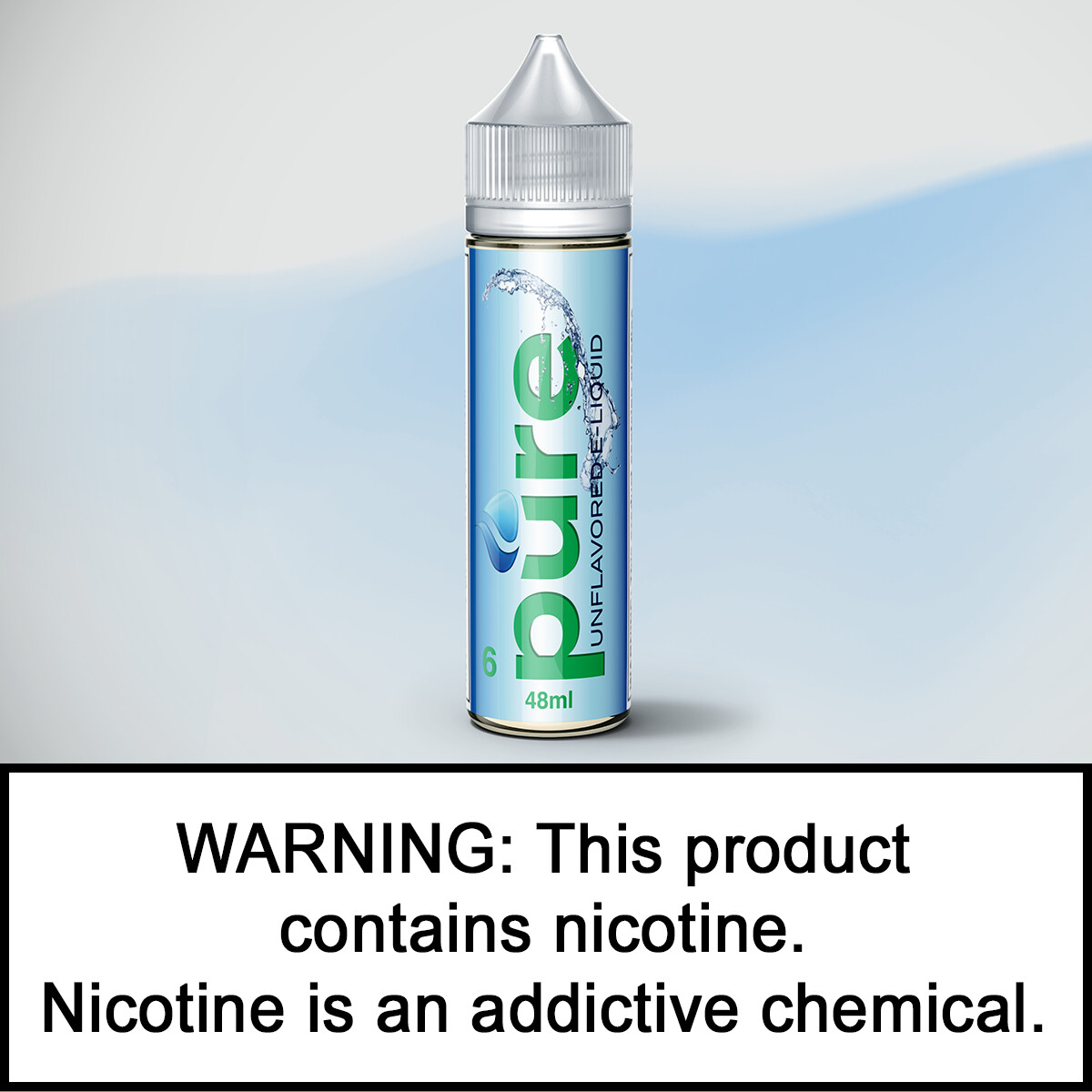 6 Pure 48ml (7.5mg/ml short-fill)