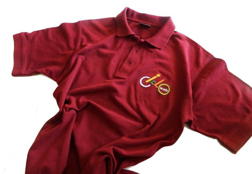 Polo ufficiale Cicloweb maniche corte