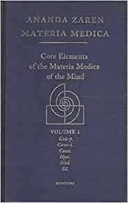 Core elements of the Materia Medica of the mind*