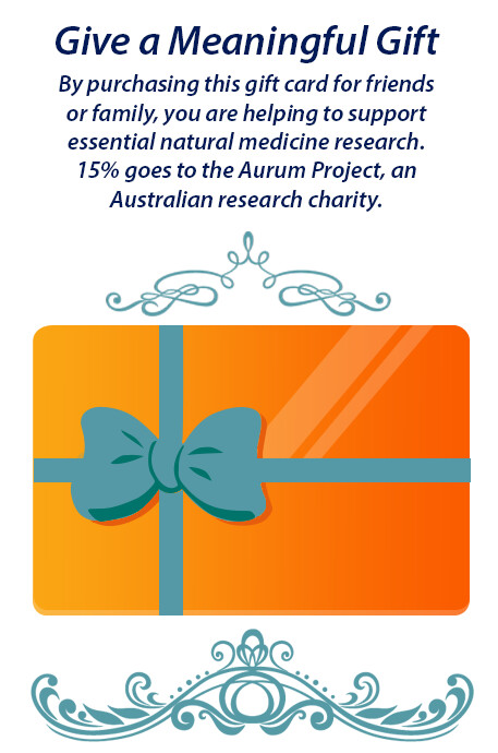 Natural Therapies Gift Card