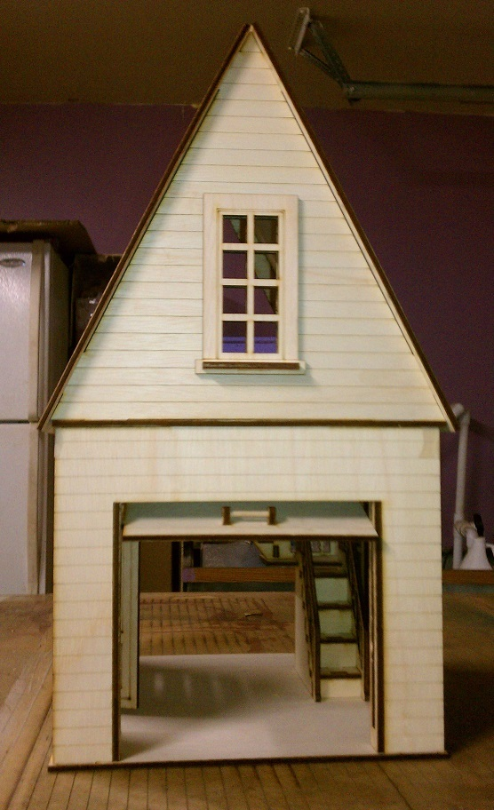 Dollhouse Garage 1 12 Scale