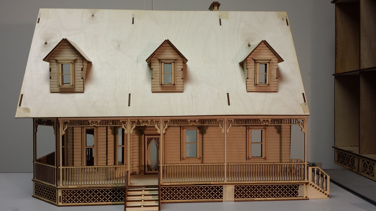 Alisha Country Dollhouse 1 24 Scale