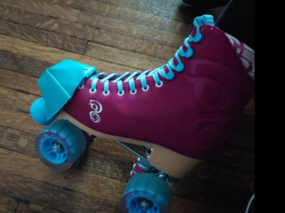 Toe guards for roller skates - Handmade